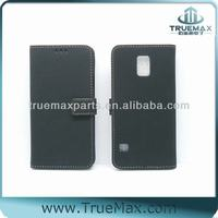Black Case, for Samsung S5 Stand Case, for Galaxy S5 PU Case