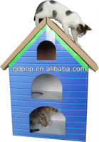 corrugated ventilate cool pet house