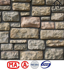 Fake rock like facade artificial concrete stone