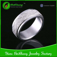 Cheap china wholesale fashion man ring large size stainless steel rings
