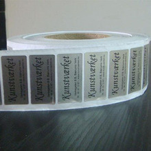self adhesive hologram aluminium sticker label