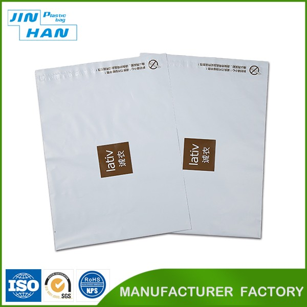 Plastic material clothing bags/ shipping mailing bags/document envelope
