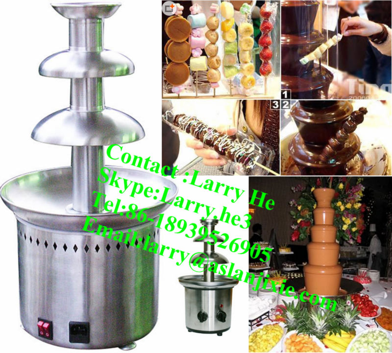 wholesale commercial chocolate fountain/chocolate dispenser/chocolate fountain prices