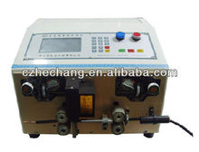 Automatic aluminium wire stripping machine tools for teflon cutting