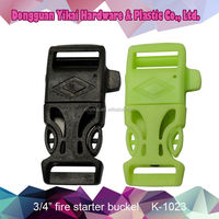 Yikai plastic paracord buckle/plastic dog collar buckle/plastic bag buckle for bagpack