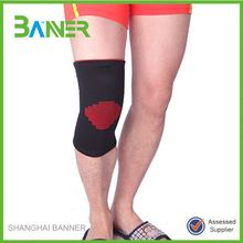 Kintted soft compression basketball knee brace support