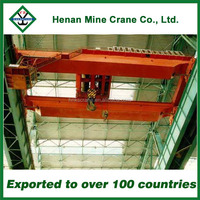Chinese Manufacturer 15 ton double beam overhead crane