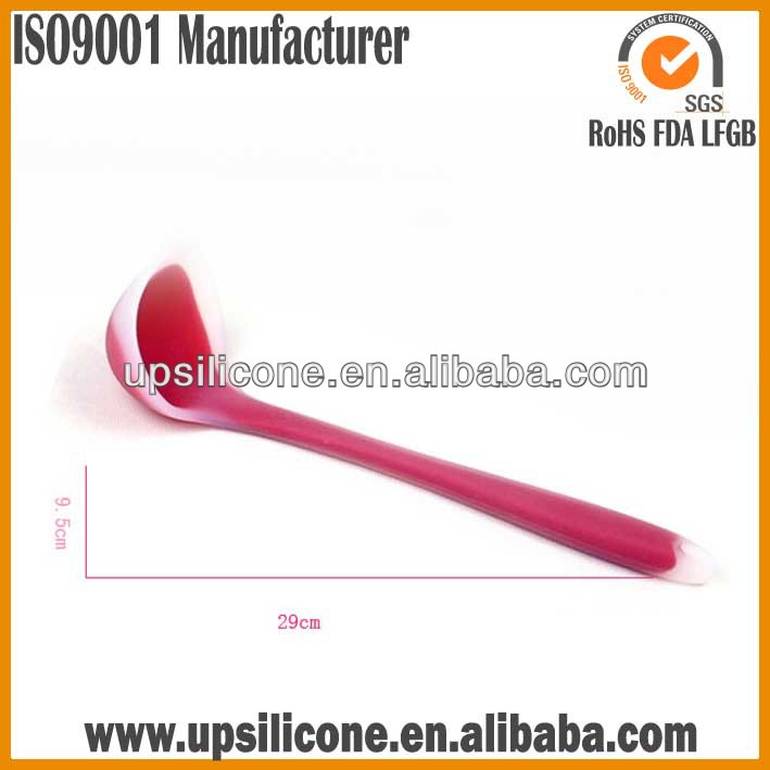 silicon large stainless soup ladles cooking ladles