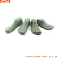 2017 fashion cheap unique design green hot sale plastic last for shoes