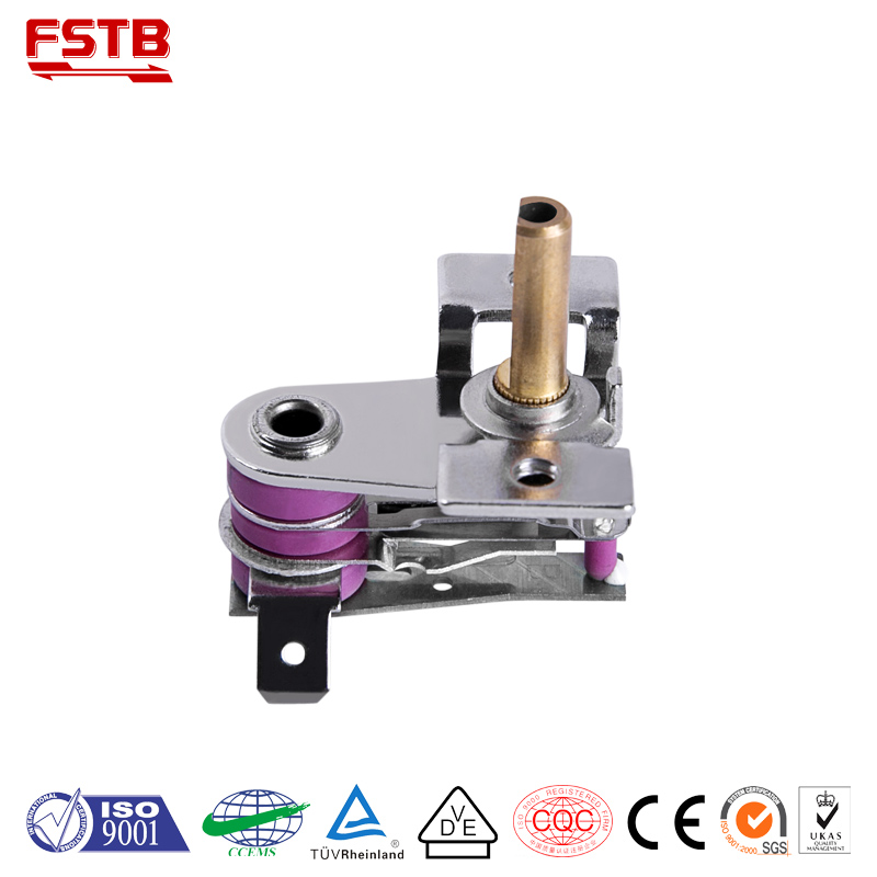 KST205 customized adjustable thermostat in electric iron parts