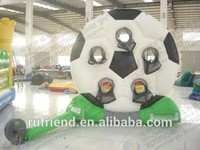 The latest design 3m height large outdoor inflatable recreation football game pitching upscale commercial inflatable products