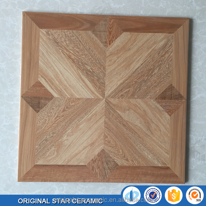 Rustic Ceramic Wooden Look Tiles Glazed Floor Tiles