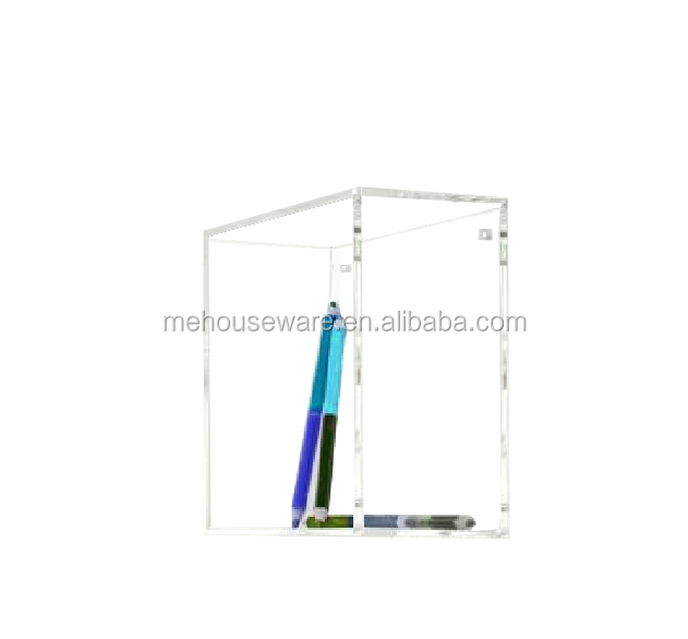 acrylic wall boxes clear acrylic square shape wall ball display rack