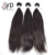 Double Drawn Raw Virgin Human Hair Straight 13x4 Ear To Ear Frontal Lace Closure With Bundles From Chinese Factory