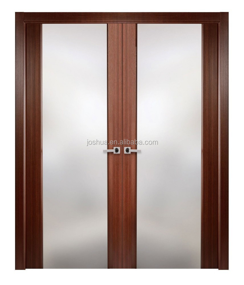 interior wooden glass sliding doors design