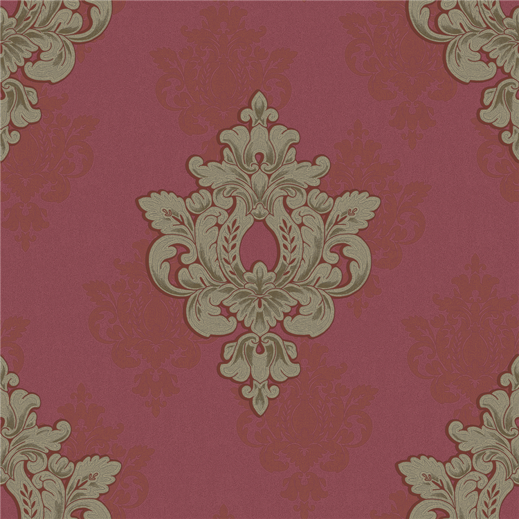 GBR manufactured PVC vinyl wallpaper for commercial use in America
