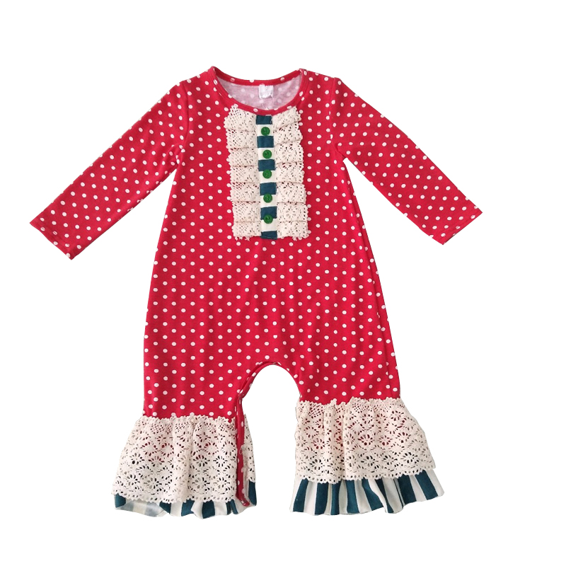Baby Girls Christmas Clothing Set 2017 New 2Pcs Cute Cotton Fashion Infant Outfit Trend Tops+pants Christmas Set
