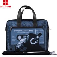 2016 New fasion canvag laptop bag 17.5 inch factory direct selling new stylish whosale