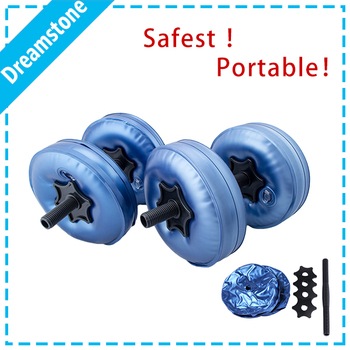 Weight Lifting adjustable water filled dumbbells