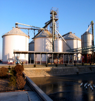 material handling equipment grain silo cost