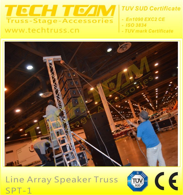 line array speaker truss stand tower/truss lift tower