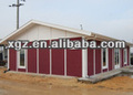 XGZ prefabricated steel frame prefab house