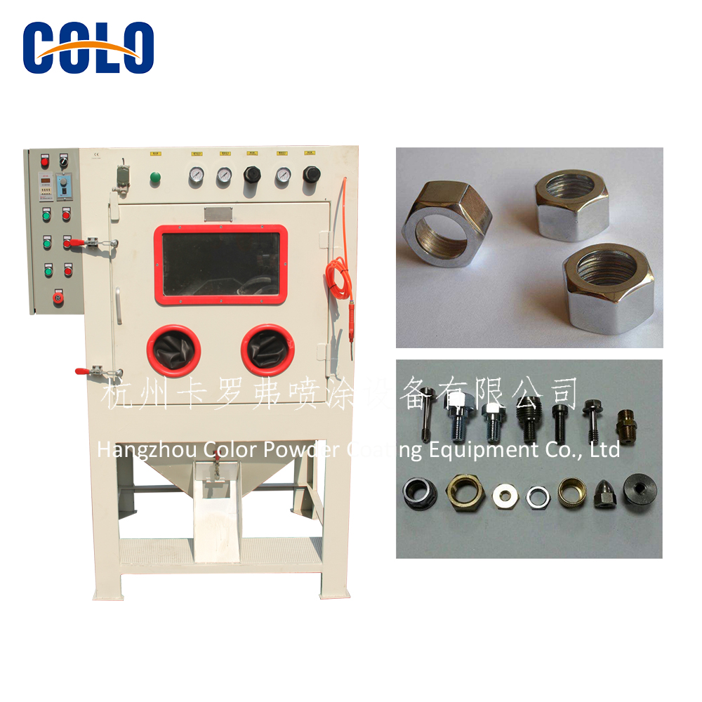Sand Blasting Machine for small parts batch jobs