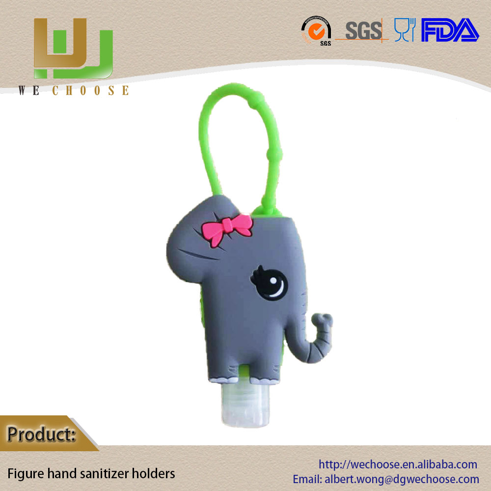 Basic cleaning winter Christmas gifts lovely and flavours hand sanitizer with mini elephant hand sanitizer gel bag