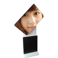 "47"" inch floor stand rotating LED wifi android monitor digital totem signage display"