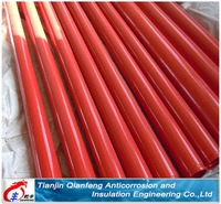Making thickness as required supply internal&external plastic-coated steel pipe