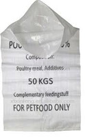 cow/ horse/ pig/ dog/cattle etc animal feed bags for sale
