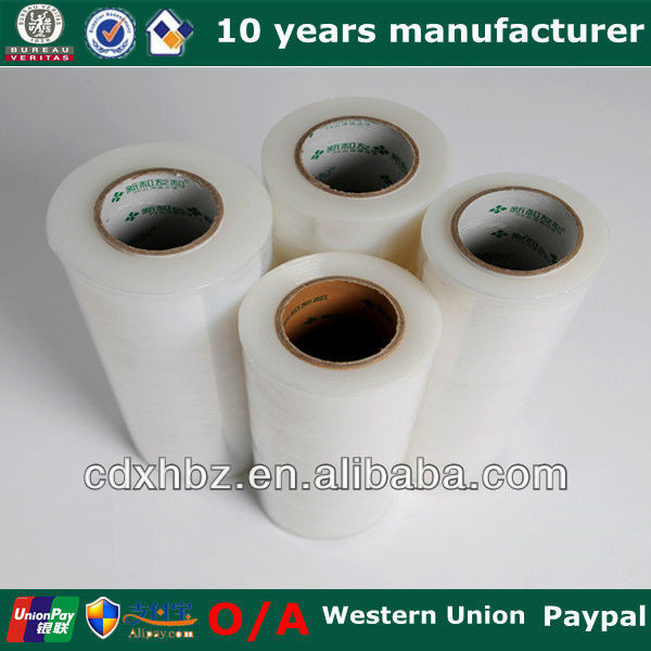 LLDPE Hand Roll Stretch Film Bale Wrap Plastic