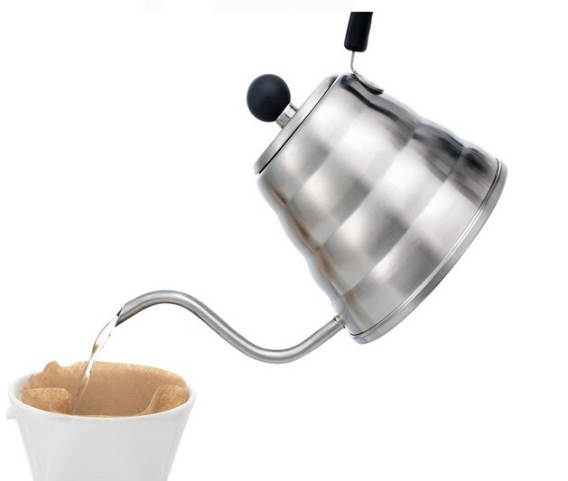 2017 Amazon Hot Sale Coffee Tea Milk Drip Kettle With Thermometer