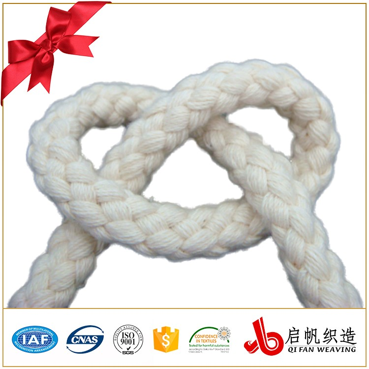 Best selling cotton woven twill rope for garment