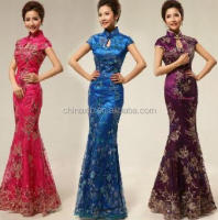 Wholesale various color hot chinese Cheong-Sam costume
