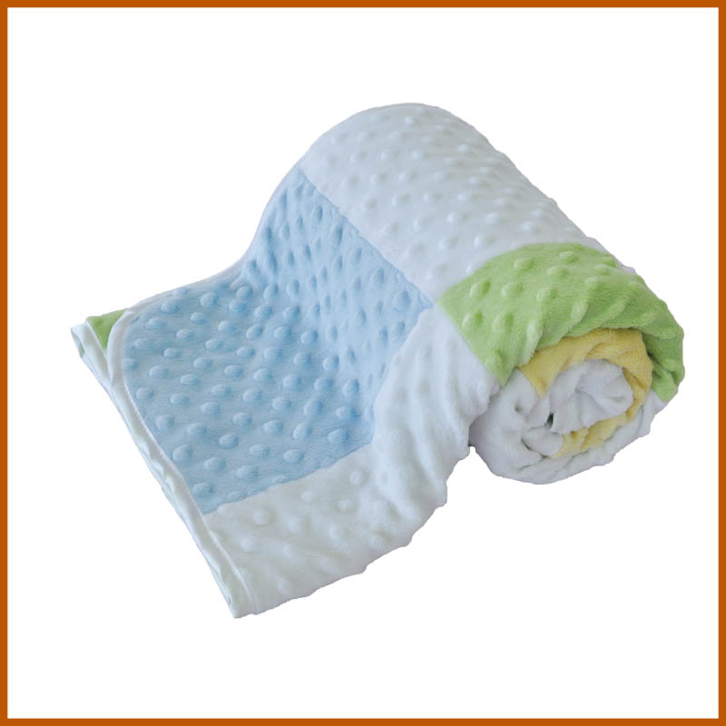 Good Quality Light Gray Comfortable Home Blankets In China