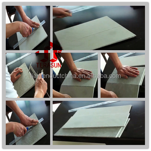 glass fiber reinforced fiber cement partition board