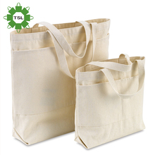 Customized various styles wholesales promotion white fabric cotton canvas bags tote bag