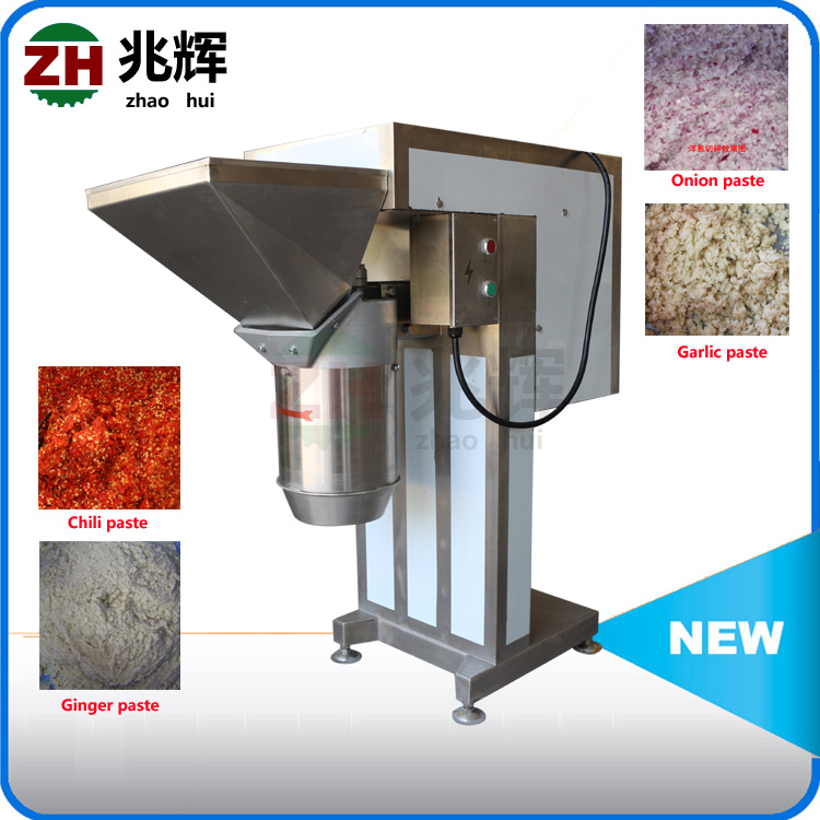 Hot sale onion ginger paste processing machine/Fresh vegetable and fruit mashed processing Machine