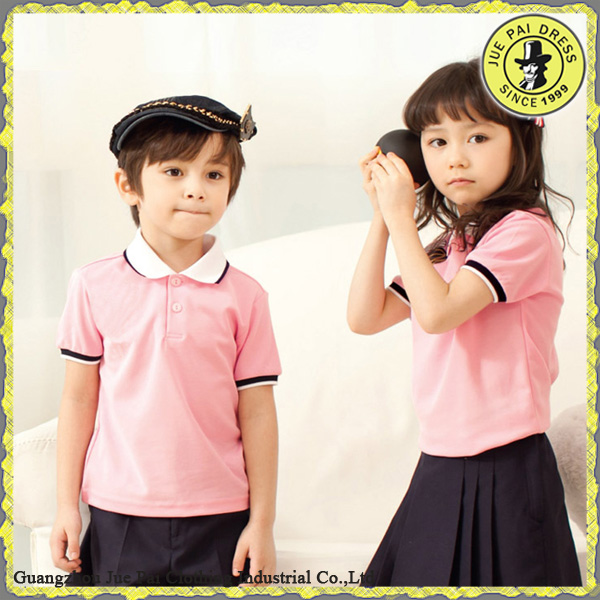 Cotton Polyester Summer Tailored Bulk Band Kids School Uniforms