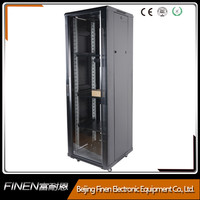 "high quality 19"" inch floor standing steel rack cabinet supplier"