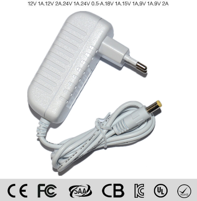 CE European regulations 12V4A power adapter 48W monitor power plug wall led switching power supply