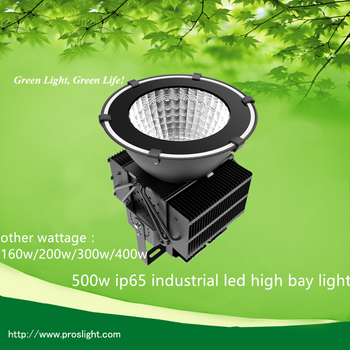 347v ul led high bay light application ,shenzhen 400w 500 watt led high bay