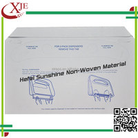 Hygienic Toilet Seat Cover ,Tissue Paper Disposable Toilet Seat Cover