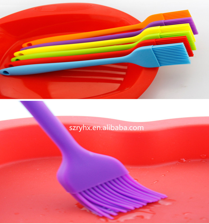 Contact Supplier I'm Away heat resistant silicone oil brush/Silicone Cooking Brush with storage bottle/ Silicone Basting Brus
