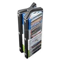DVD/CD Media Storage Rack with 3 Shelves