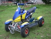 Automatic 2 stroke mini quad chain drive atv engine for sale