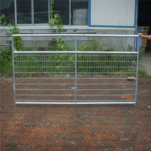 Horse fence heavy duty galvanized steel fence panels farm gate