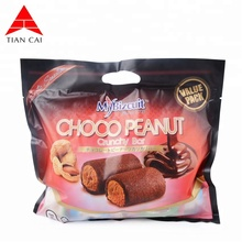 wholesale heat seal plastic chocolate bag with custom print