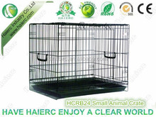 Hot sale cheap metal small animal crate dog cage RB24